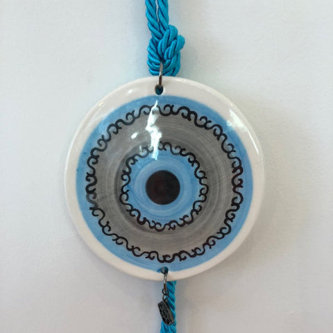 Small Eye Ceramic House Charm 33