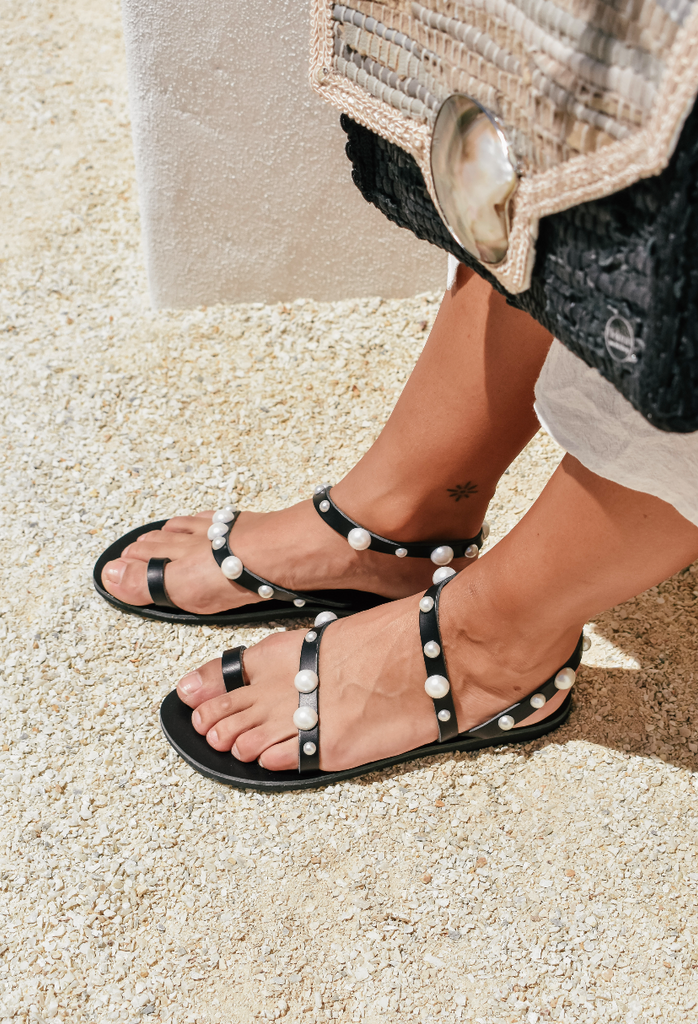Lyssa Sandals -  Black