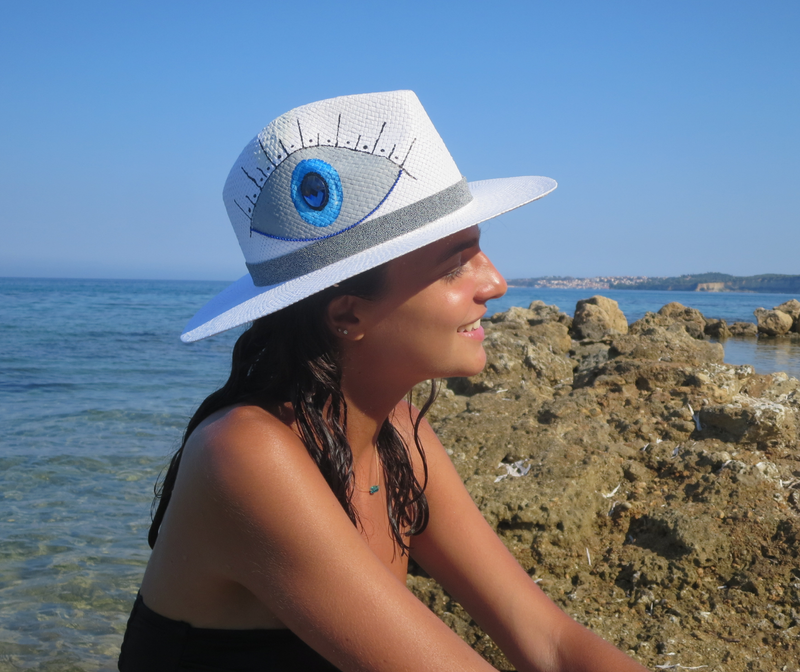 Mati Mati Eye Straw Hat