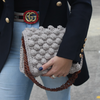 Bubble Crochet Bag - Musk