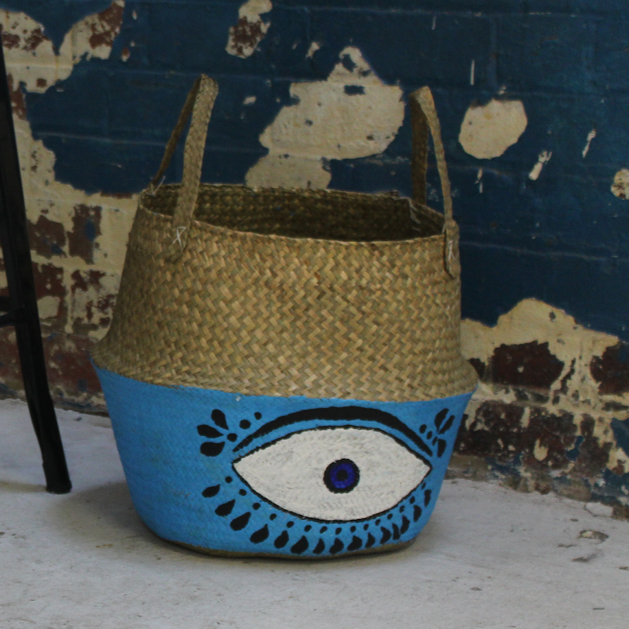 Eye Seagrass Basket