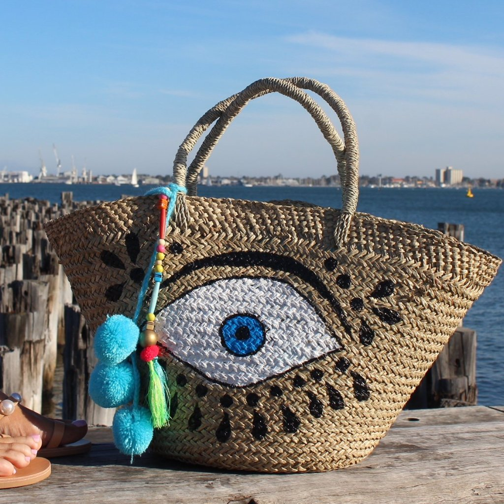 Big Mati Straw Bag
