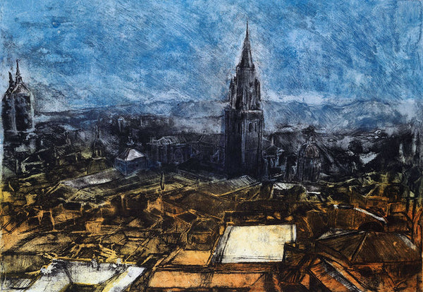 Lot 2A: Toledo (Etching and Aquatint), Natasha Lien