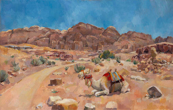 Lot 1A: Royal Tomb with Camel, Natasha Lien