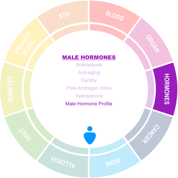Male Hormone (Testosterone) Package (PW)