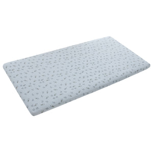 Mattress Sheet Blue Small Star & Sheepz