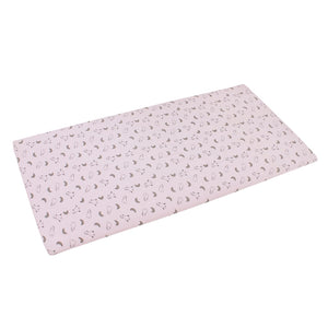 Mattress Sheet Small Moon & Sheepz Pink