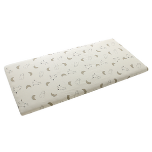 Mattress Sheet Big Moon & Sheepz Yellow