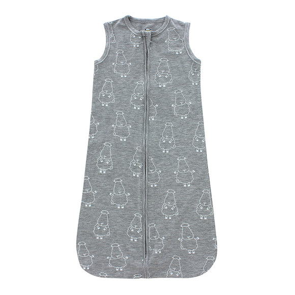 Wearable Blanket Zip Big Sheepz Grey