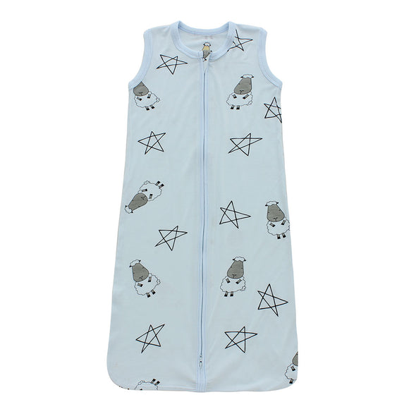 Wearable Blanket Zip Big Star & Sheepz Blue