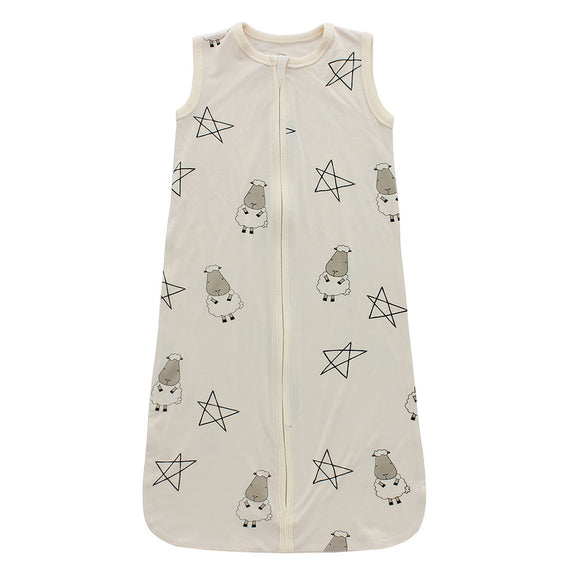 Wearable Blanket Zip Big Star & Sheepz Yellow