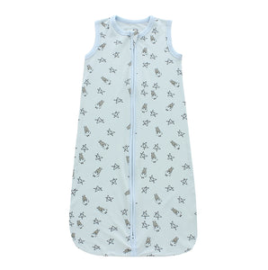 Wearable Blanket Zip Small Star & Sheepz Blue