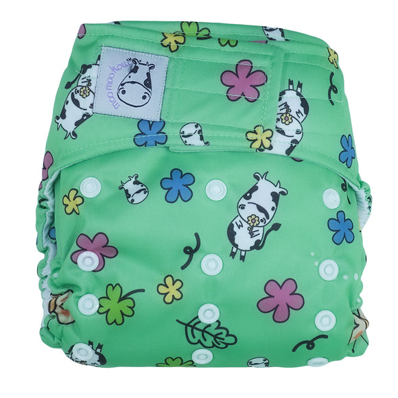Cloth Diaper One Size Aplix - Spring