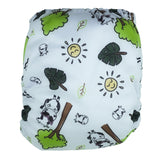 Cloth Diaper One Size Aplix - Summer