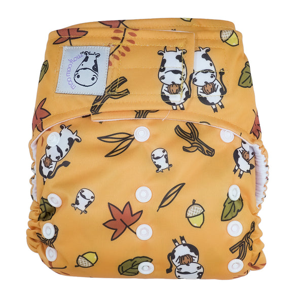Cloth Diaper One Size Aplix - Autumn