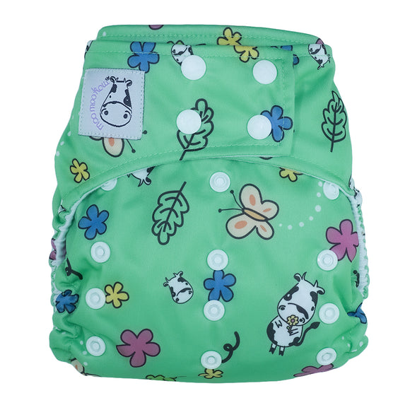 Cloth Diaper One Size Snap - Spring