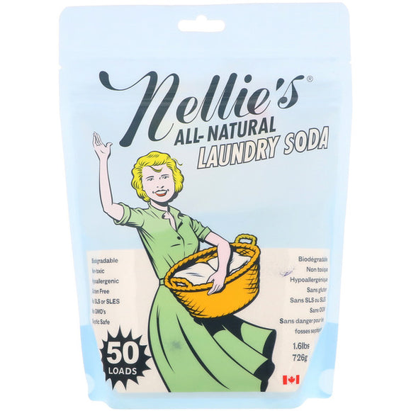 Nellie's All-Natural Laundry Soda (50 Loads)