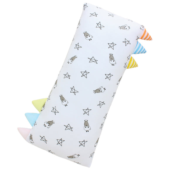 Bed-Time Buddy™ Small Star & Sheepz White with Color & Stripe tag - Medium