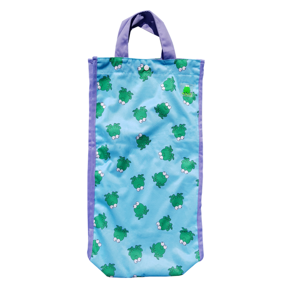 Lucky Bag - Long Tote Bag Lucky Frok Blue