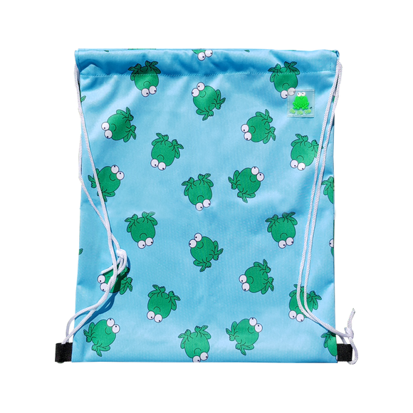 Lucky Bag - Drawstring Bag Lucky Frok Blue