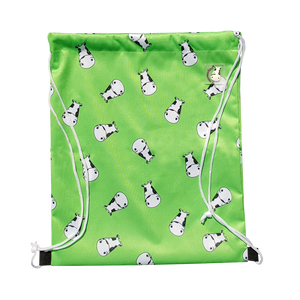Lucky Bag - Drawstring Bag Lucky Kow Green
