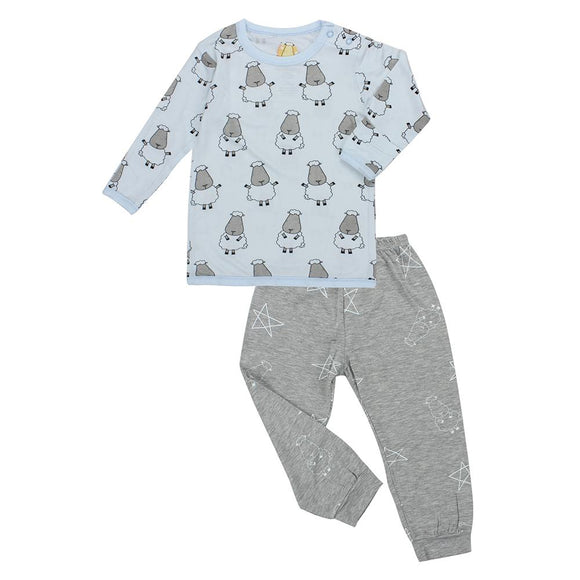 Pyjamas Set Big Sheepz Blue + Big Star & Sheepz Grey