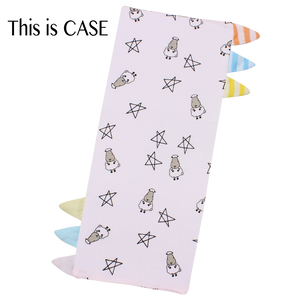 Bed-Time Buddy™ Case Small Star & Sheepz Pink with Color & Stripe tag - Small