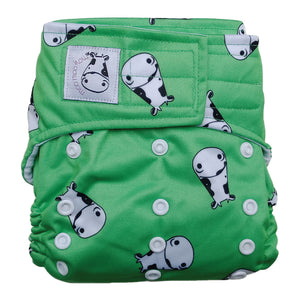 Cloth Diaper One Size Aplix - Lucky Kow