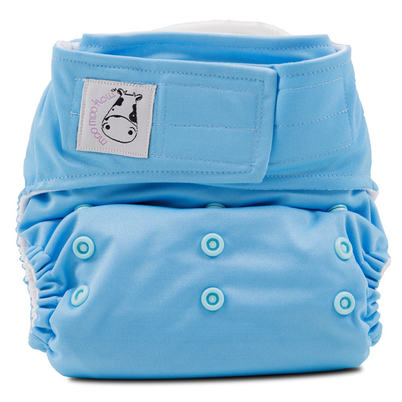 Cloth Diaper One Size Aplix - Sky Blue