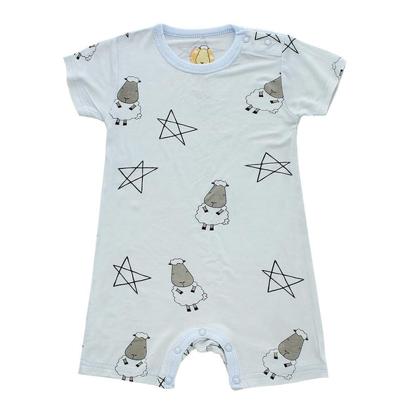 Romper Short Sleeve Big Star & Sheepz Blue