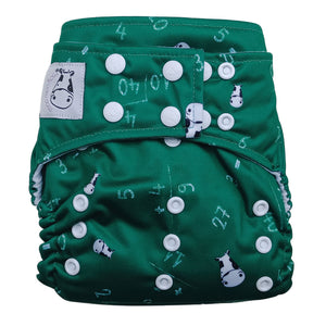 Cloth Diaper One Size Snap - Maths