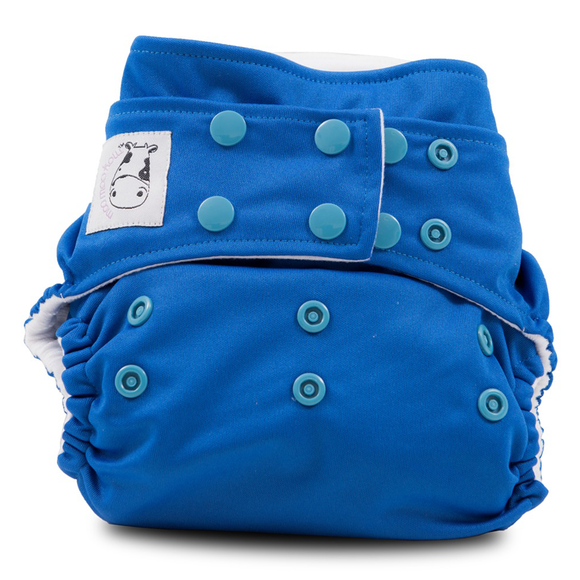 Cloth Diaper One Size Snap - Royal Blue