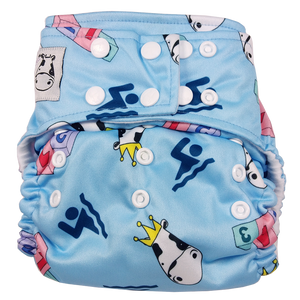 Cloth Diaper One Size Snap - Swim