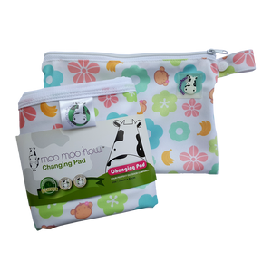 Changing Pad Travel Size Mooky Flower