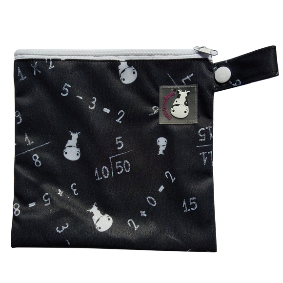 Wet Bag XS - Maths Black