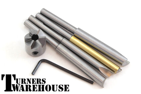 Pen Mill Blank Square - 7 piece set Barrel Trimmer