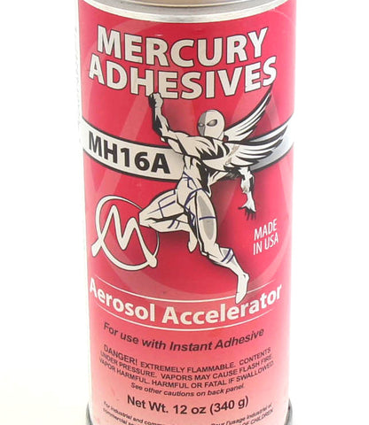 Mercury Adhesives - CA Accelerator
