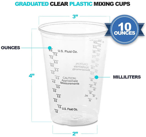Disposable Casting Mixing Cups