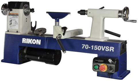 Rikon 70-150VSR Variable Speed Mini Lathe