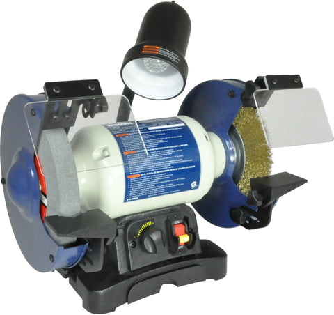 Rikon Model 80-800VS: 8″ Variable Speed Bench Grinder