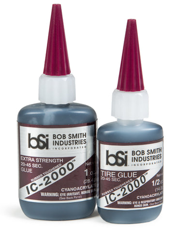 BSI Black Rubber Toughened CA Glue