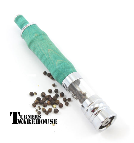 Thumb Press Pepper Mill, Salt Mill Kit