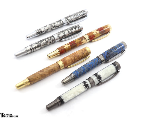 JR Hamilton Rollerball or Fountain Pen Kit