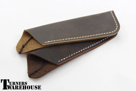 Pen Case -  Coffee Leather