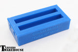 Tube in Silicone Casting Molds,  Blue Epoxy Resin, Alumilite, Polyester Resin