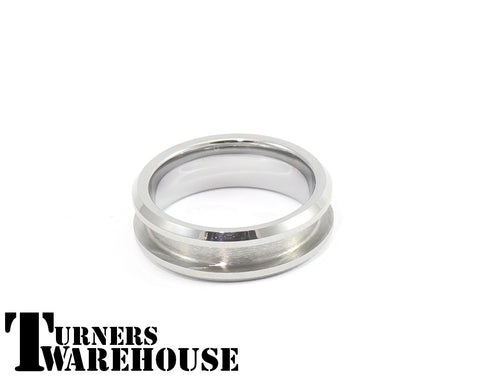 Tungsten Ring Core w/Channel for Inlay