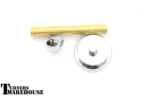Shaving Brush Handle Hardware Kit