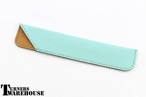 Slim Leatherette Pen Sleeve Pouch