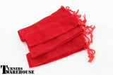 Velvet Pen Bag - Black, Blue or Red - 10 pack