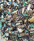 Inlay Material for Bowls, Rings, etc - Paua Abalone Inlay, Calcite Inlay